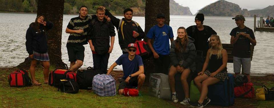 Year 13 PE Camp to Great Barrier Island 2015