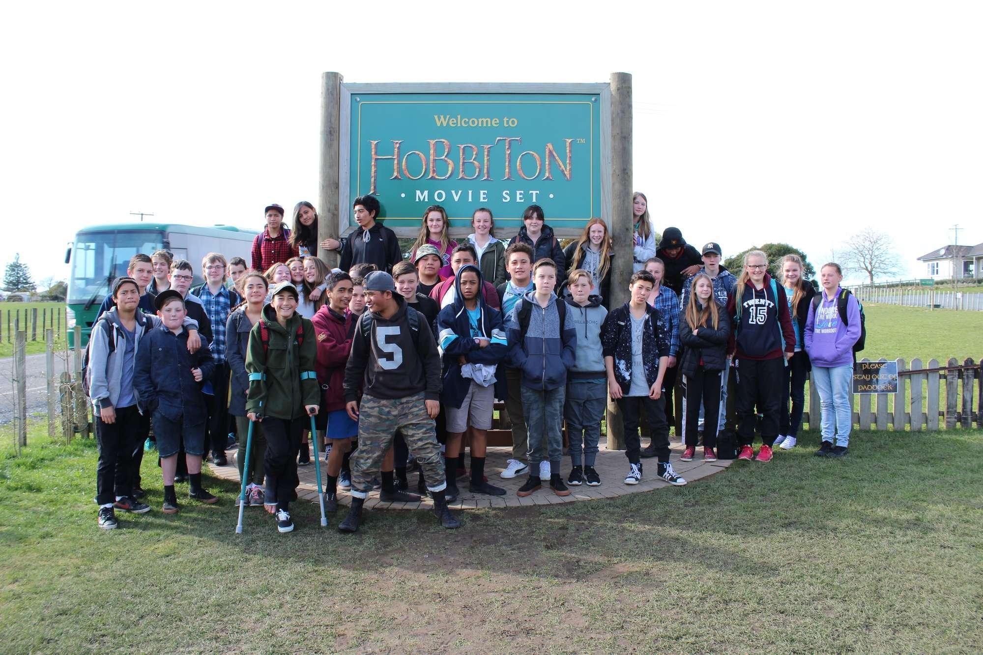 Year 9 Hobbiton Trip
