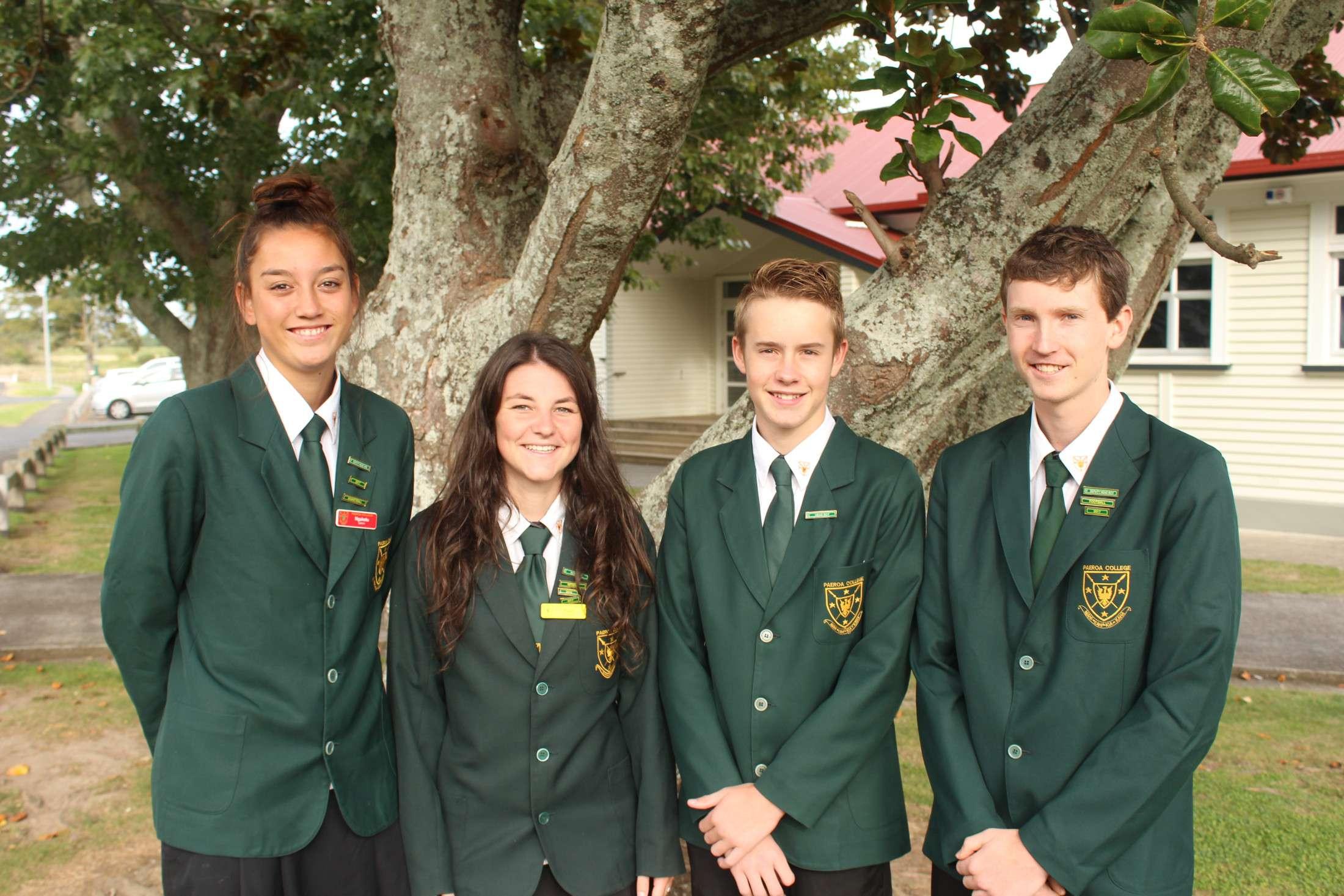 Paeroa Head Students