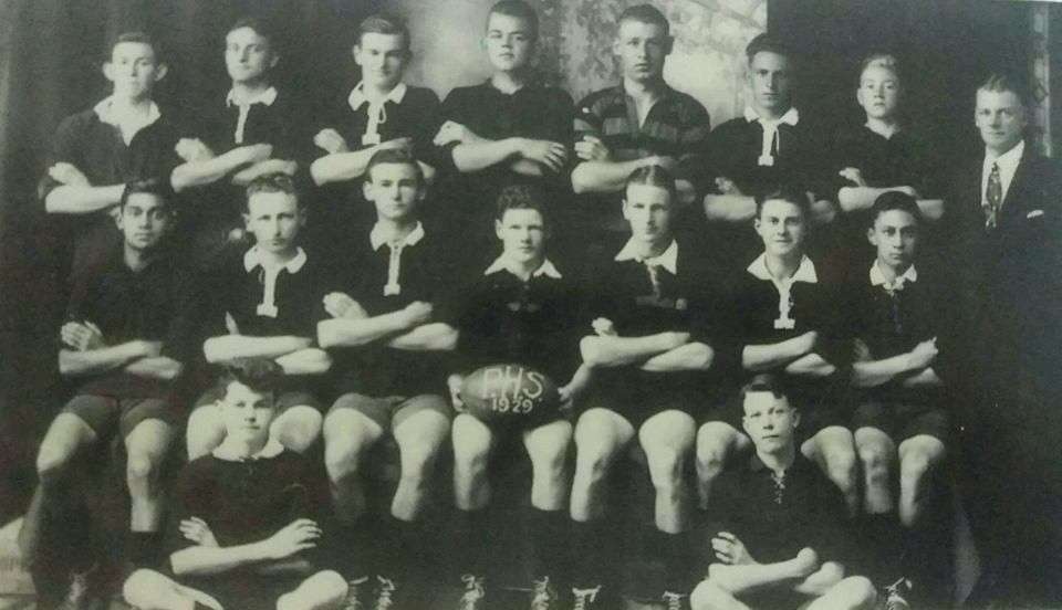 1929 1st Xv Rugby