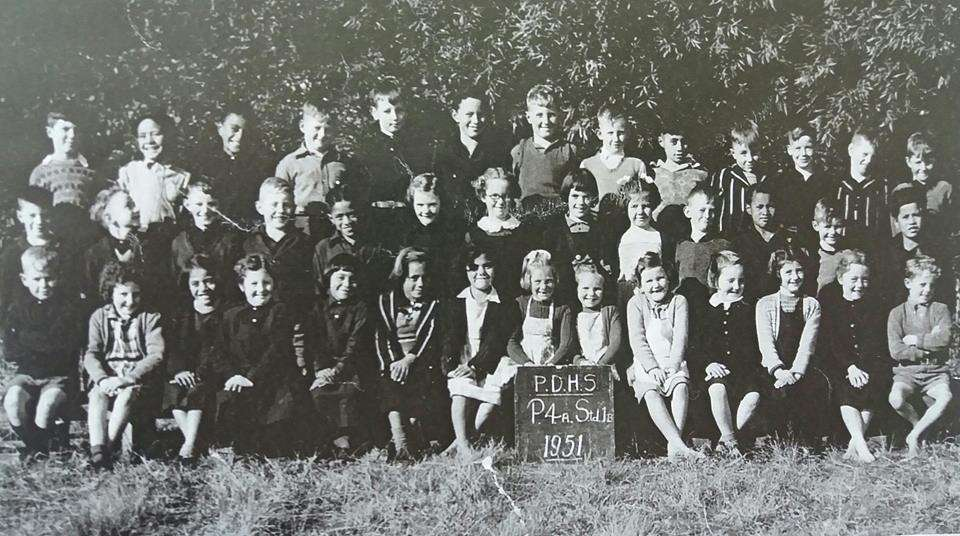 1951 Paeroa District High School P4a & Std