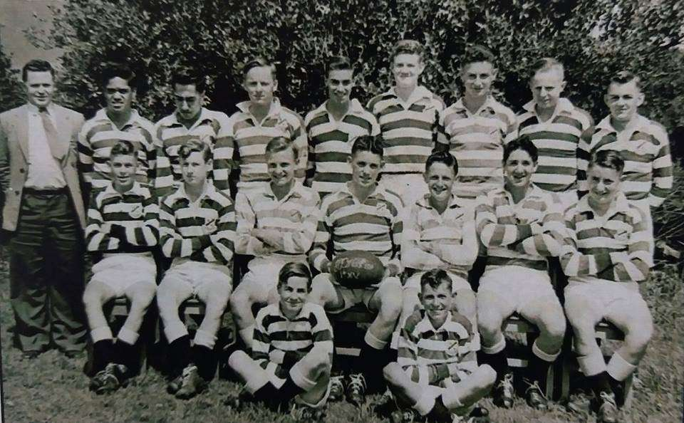 1956 1st Xv Rugby