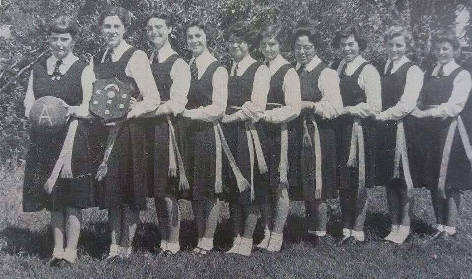 1956 Basketball ' A '