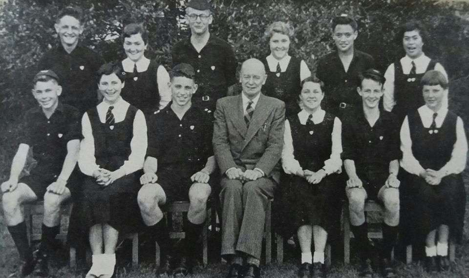 1956 School Prefects