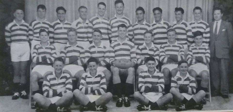 1958 1st Xv Rugby