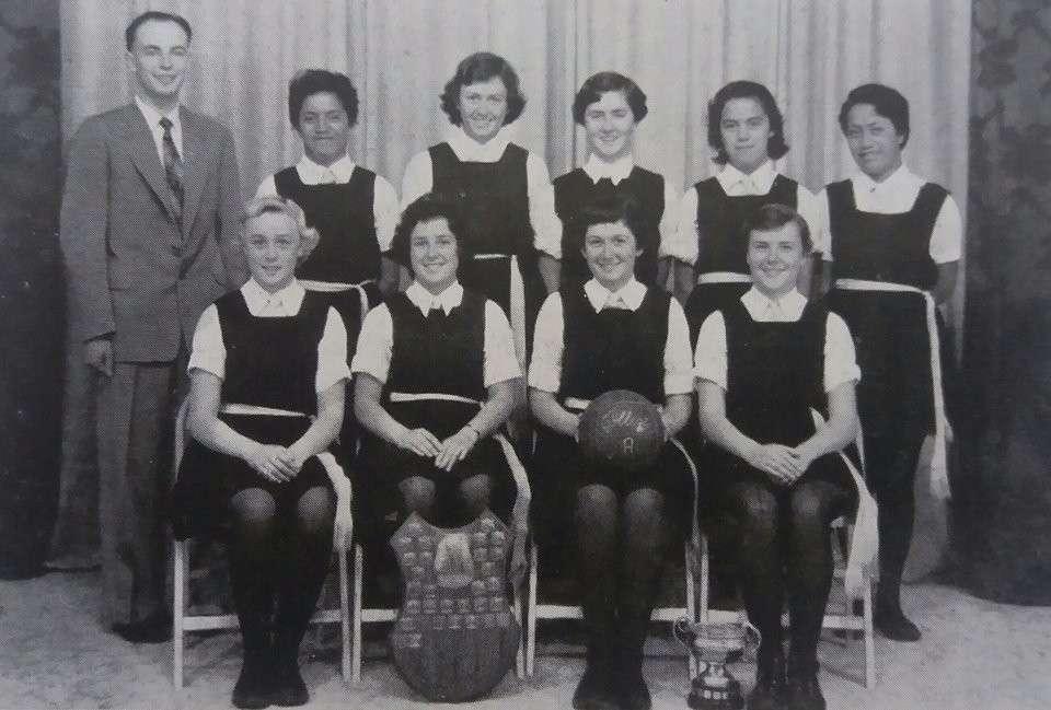 1958 Basketball 'a'