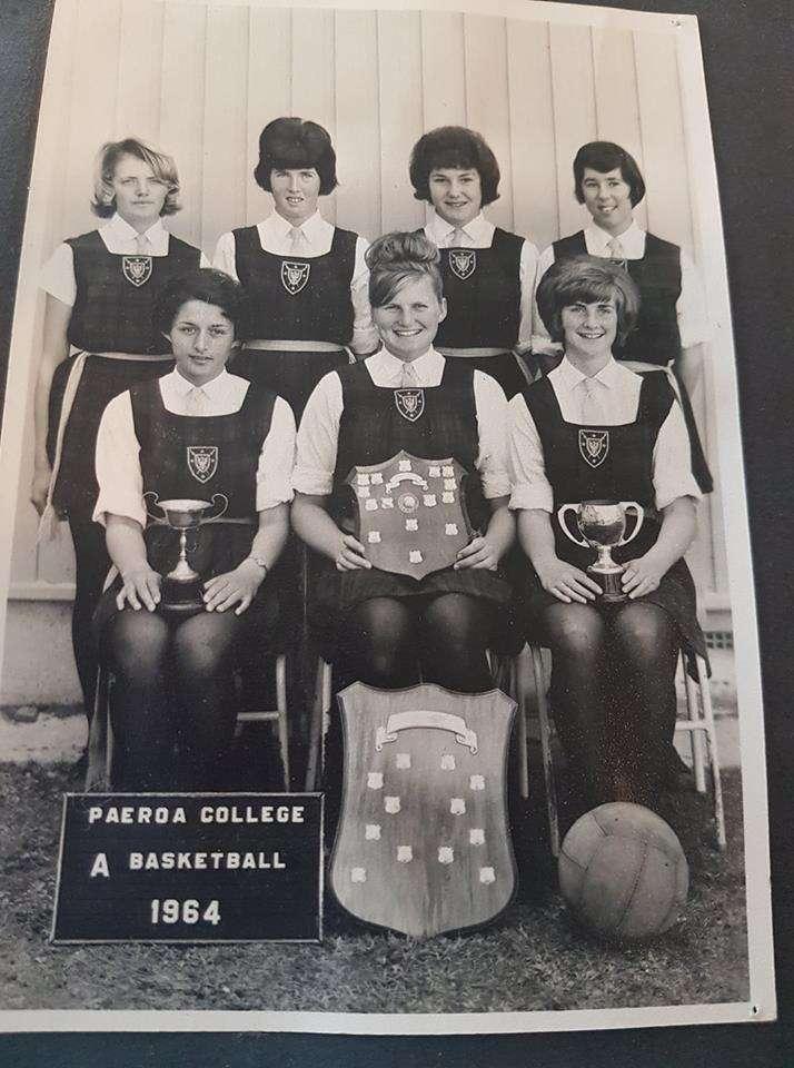 1964 A Netball Team