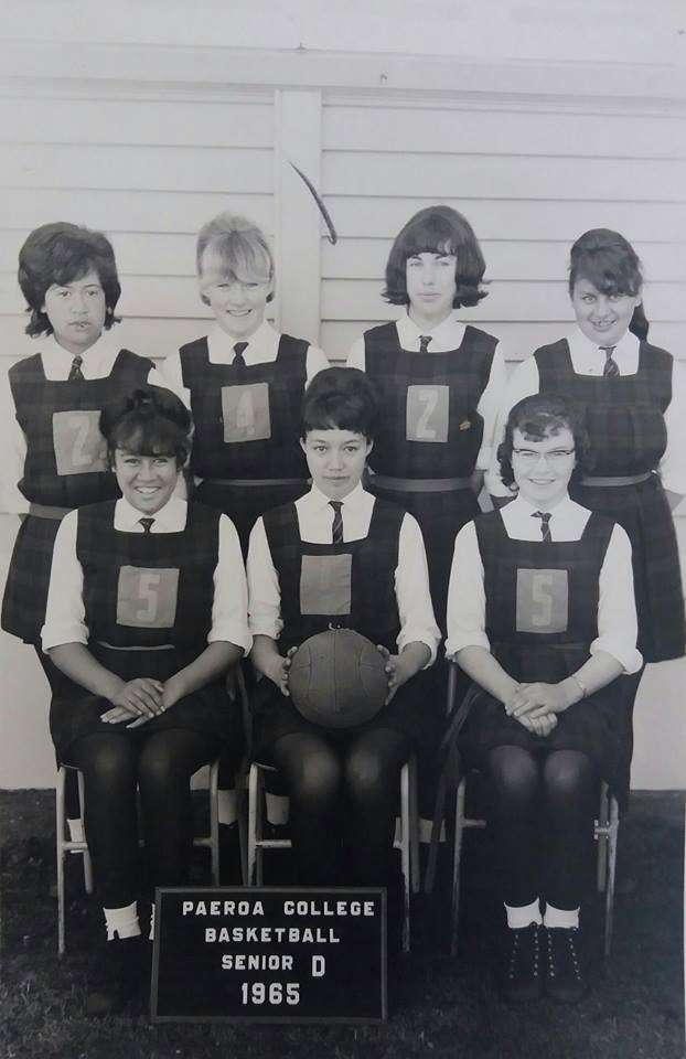 1965 Basketball Senior 'd'