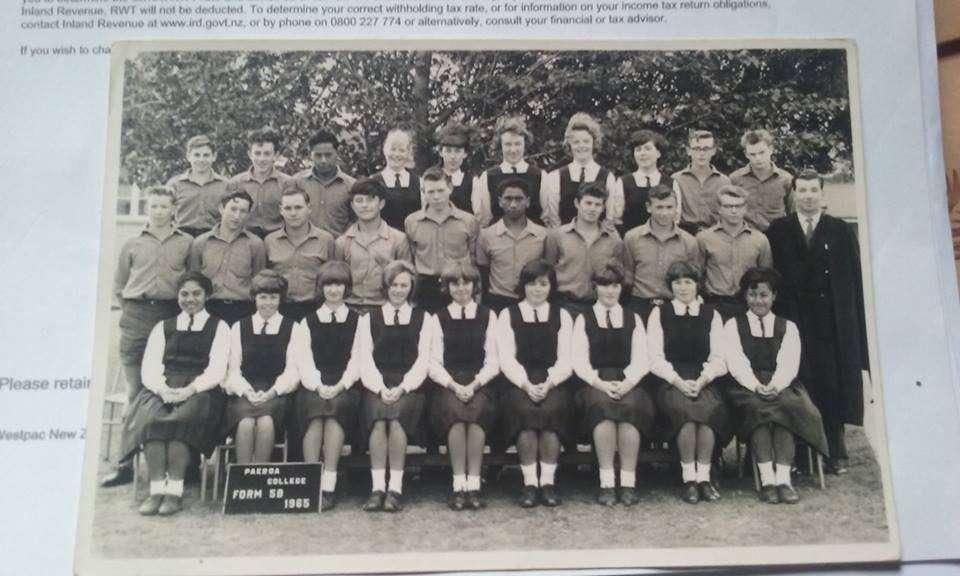 1965 Class 5b Paeroa College
