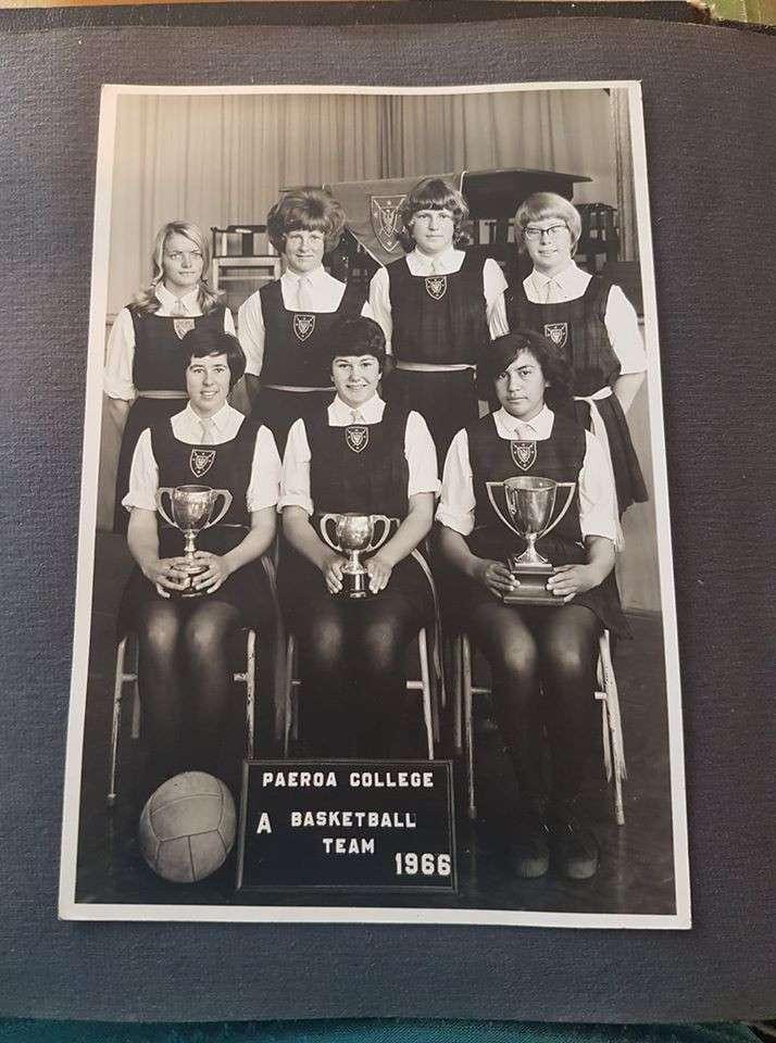 1966 Netball Team