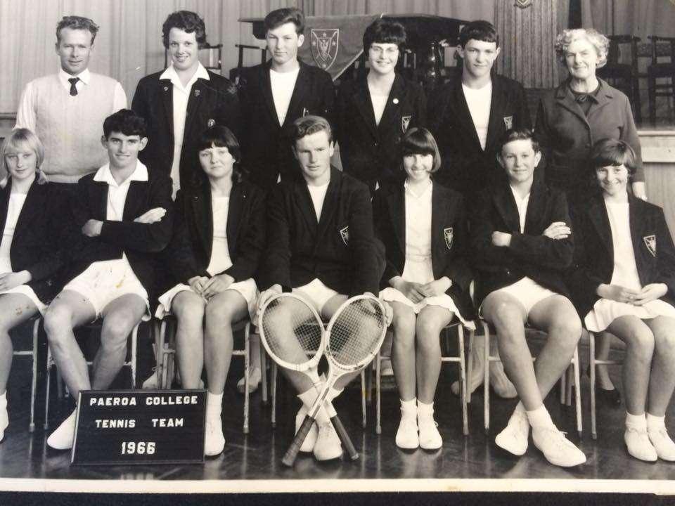 1966 Tennis Team