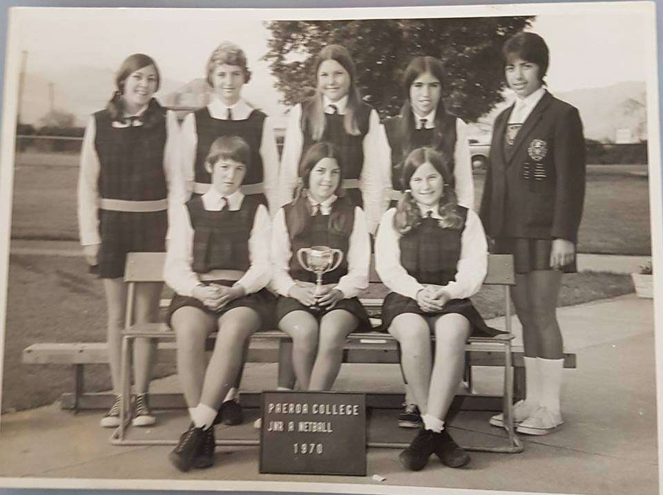 1970 Junior A Netball