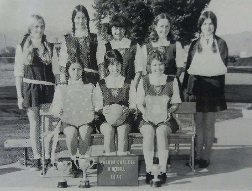 1970 Netball 'a'