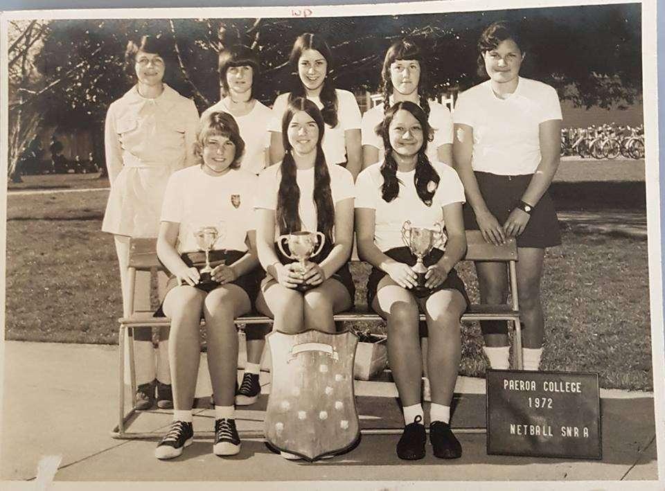 1972 Senior A Netball Team