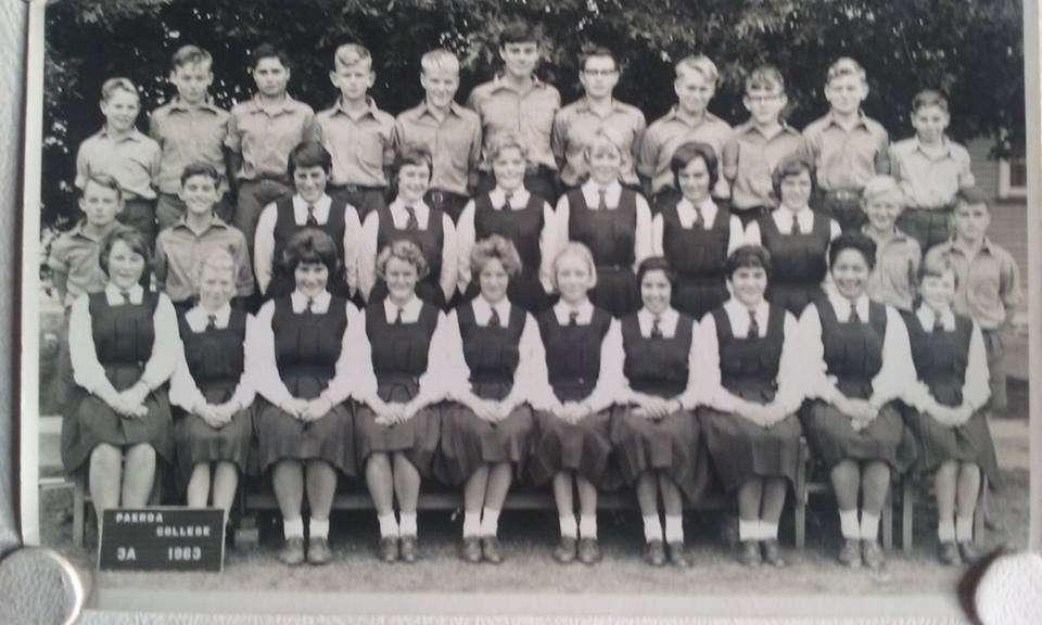 1983 Class 3a Paeroa College