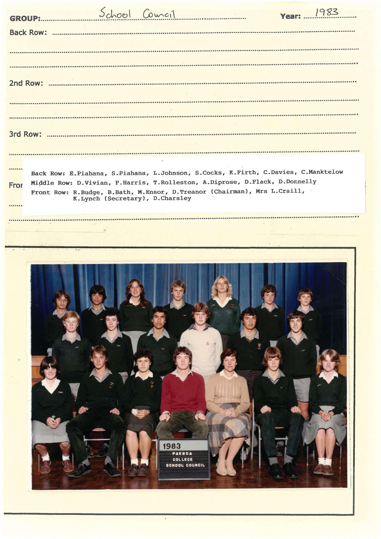 1983 School Council