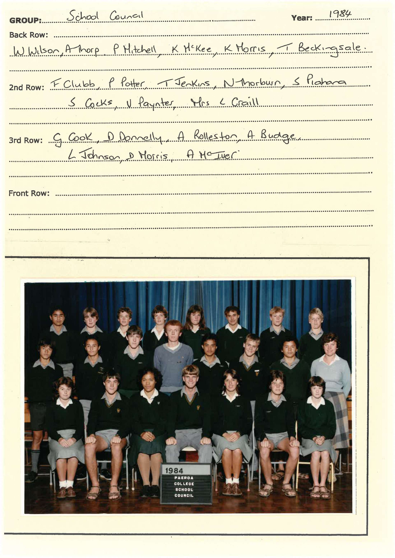 1984 School Council