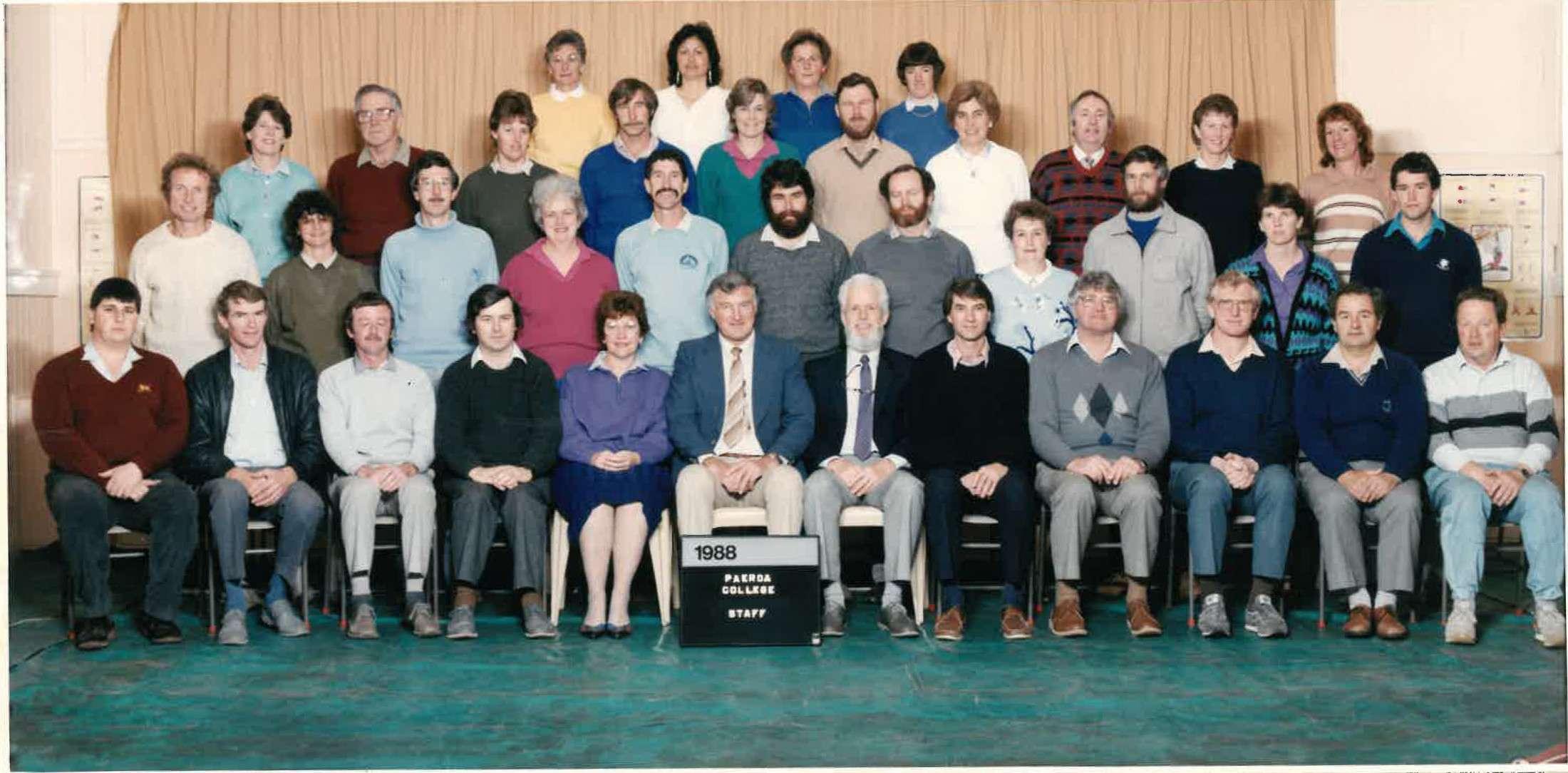 1988 Staff