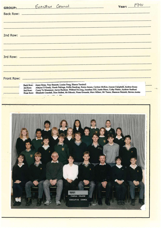 1991 Executive Council