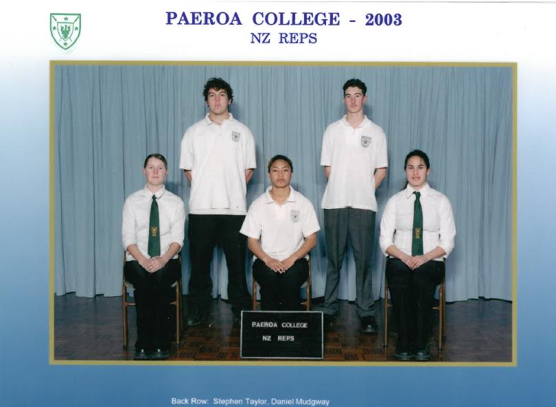 2003 Nz Reps