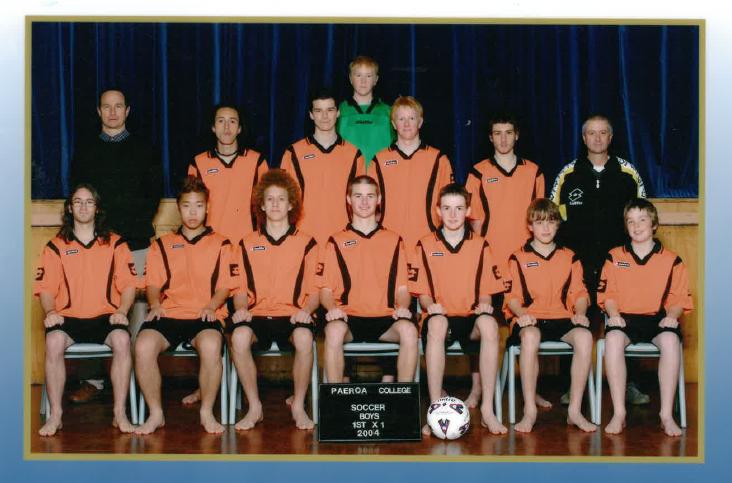 2004 1st Xi Soccer Boys