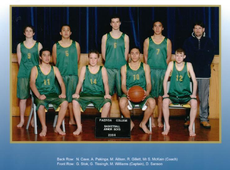 2004 Jnr Boys Bsketball