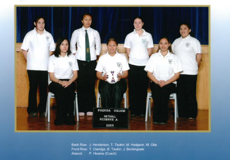2004 Netball Res A