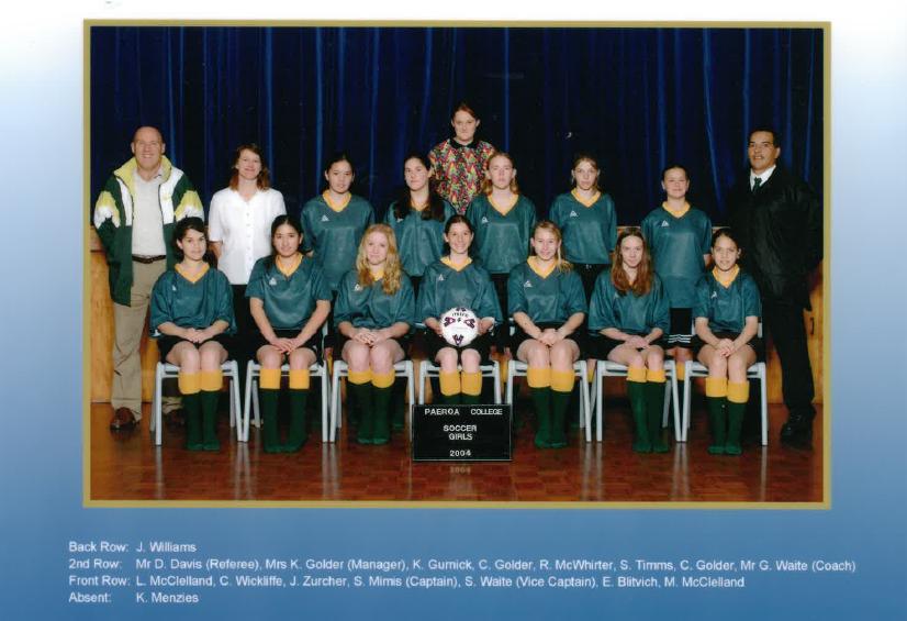 2004 Soccer Girls