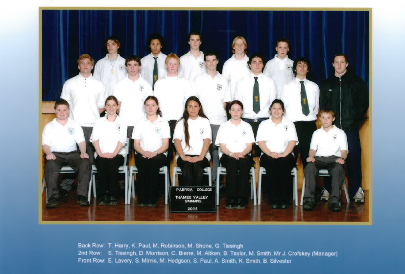 2004 Swim Team