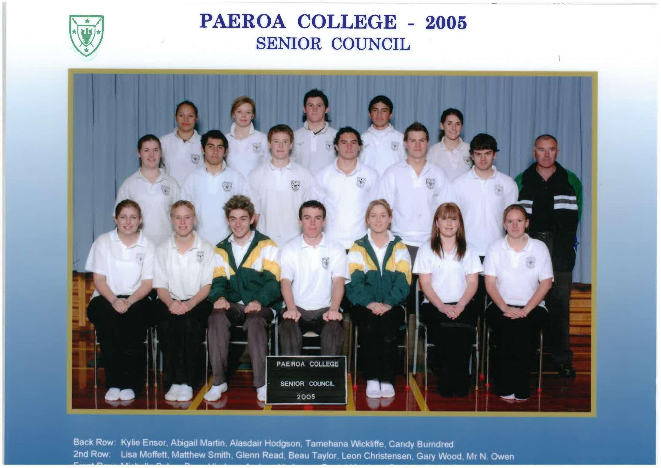2005 Senior Council