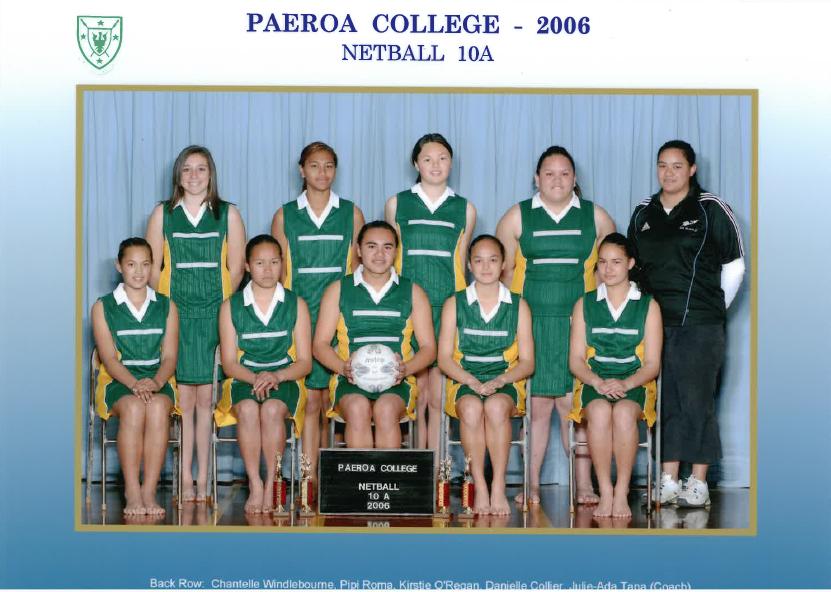 2006 10a Netball