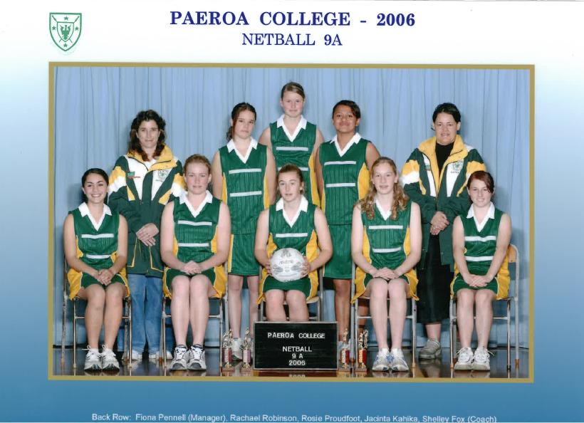 2006 9a Netball