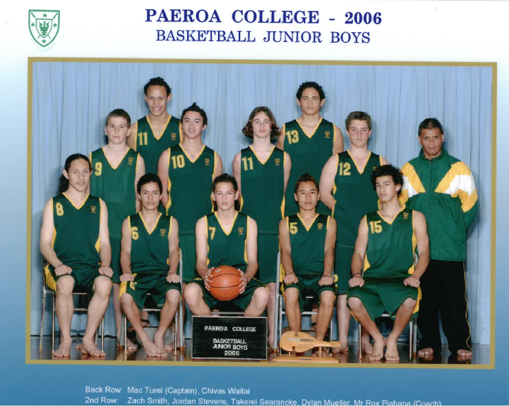 2006 Jnr Boys Basketball