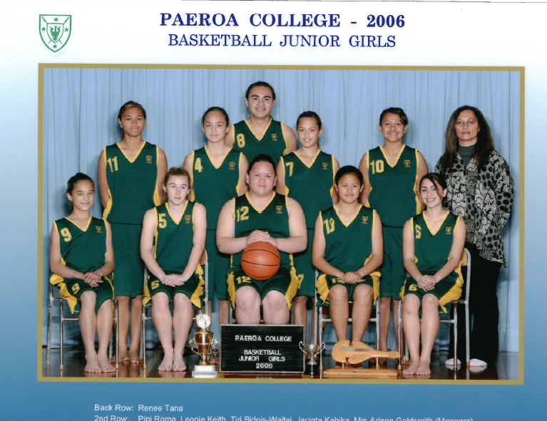 2006 Jnr Girls Basketball