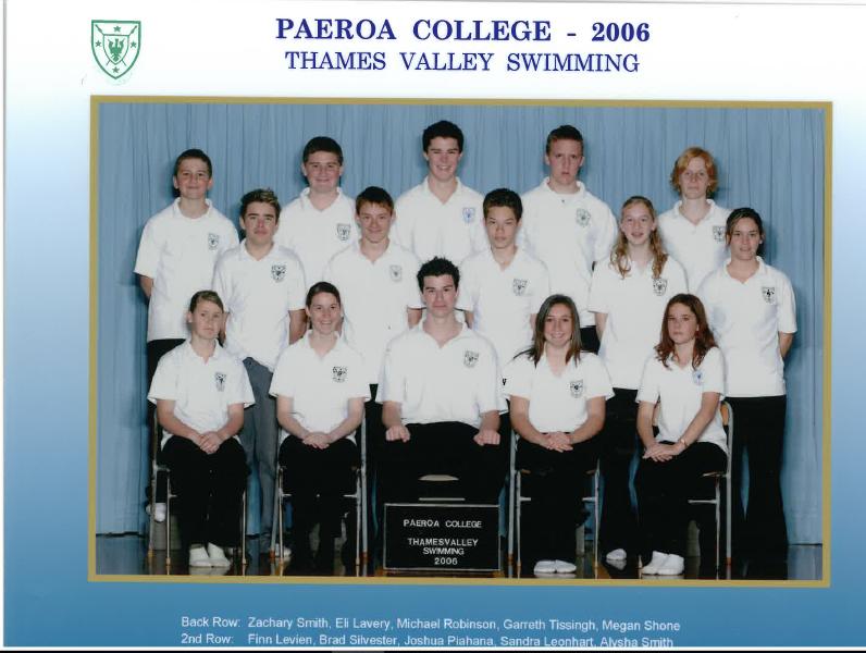 2006 Swim Team