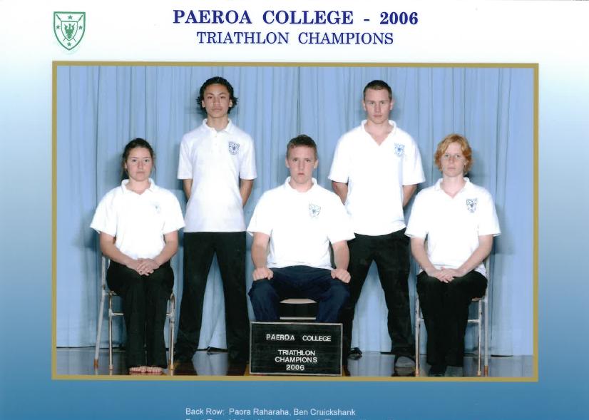 2006 Triathlon Champions