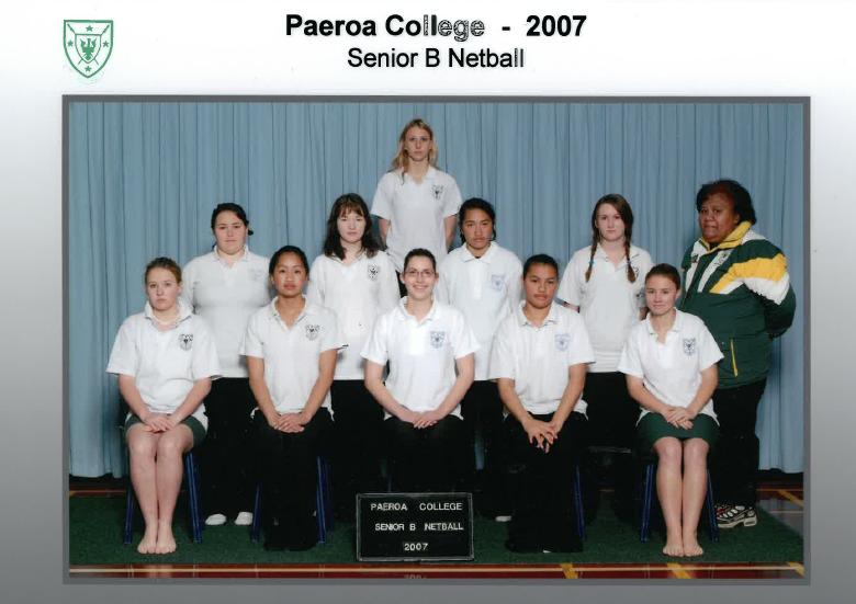 2007 Senior B Netball