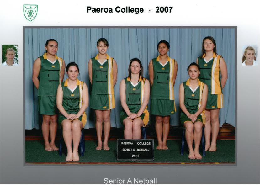 2007 Snr A Netball