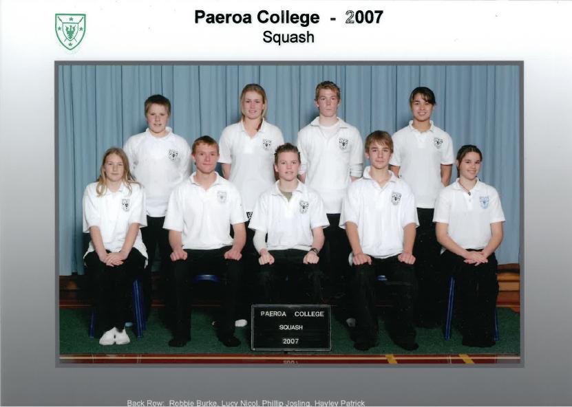 2007 Squash