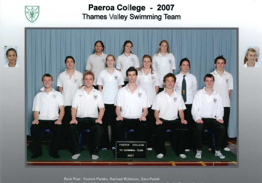2007 Swim Team