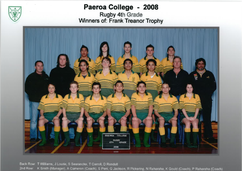 2008 4 Grade Rugby