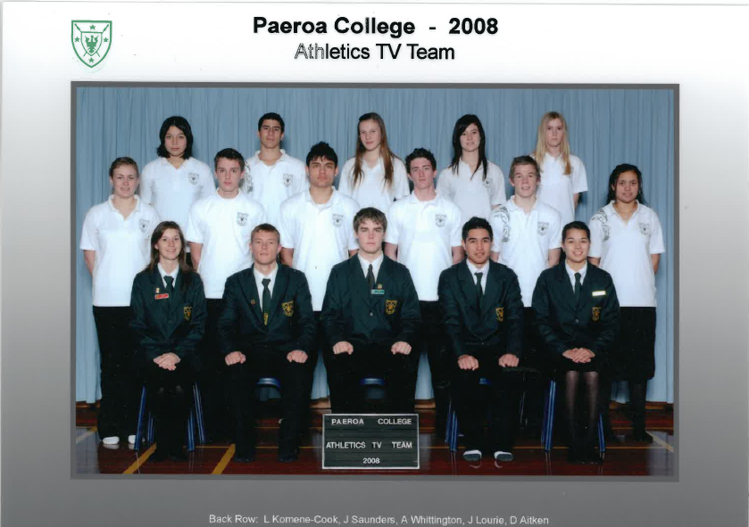 2008 Athletics Team