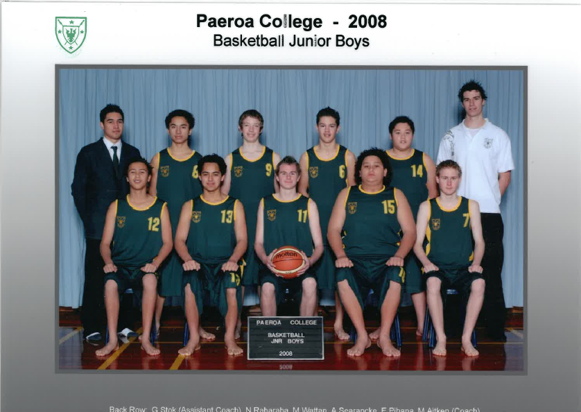 2008 Jnr Boys Basketball