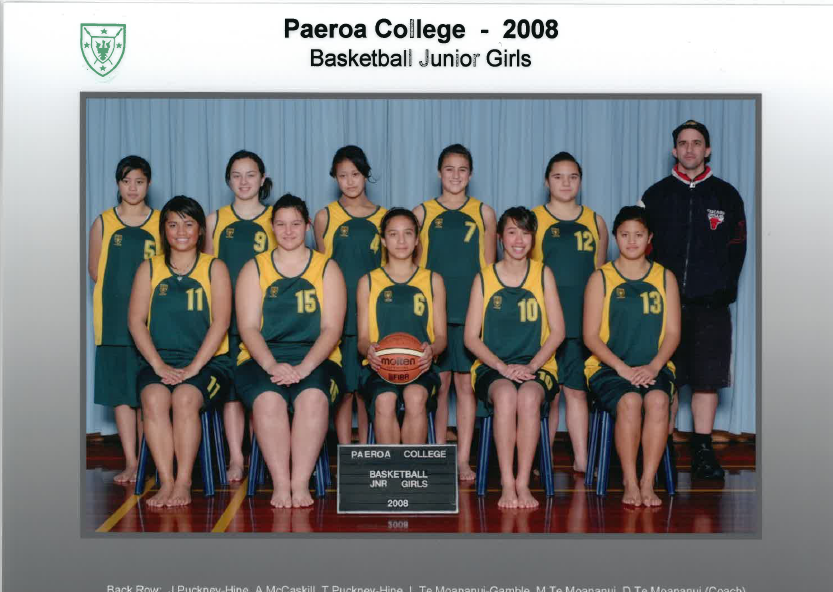 2008 Jnr Girls Basketball