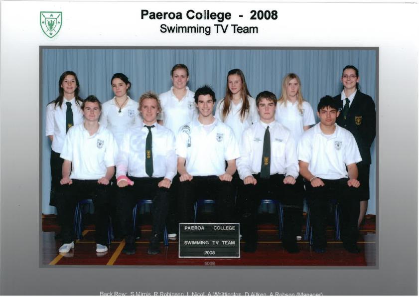 2008 Swim Team