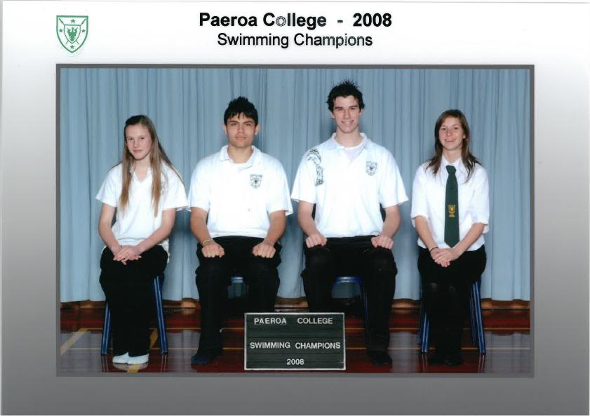 2008 Swimming Champions