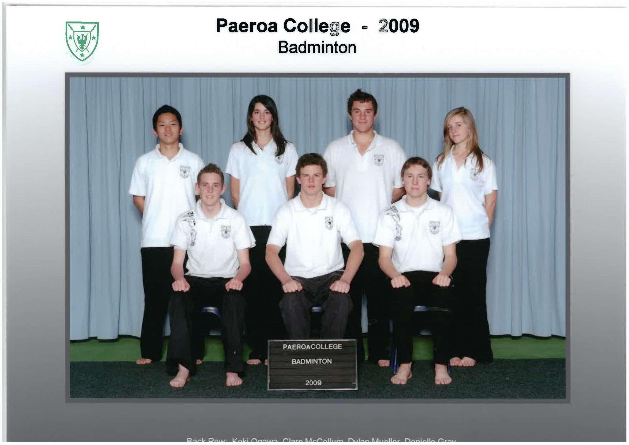 2009 Badminton