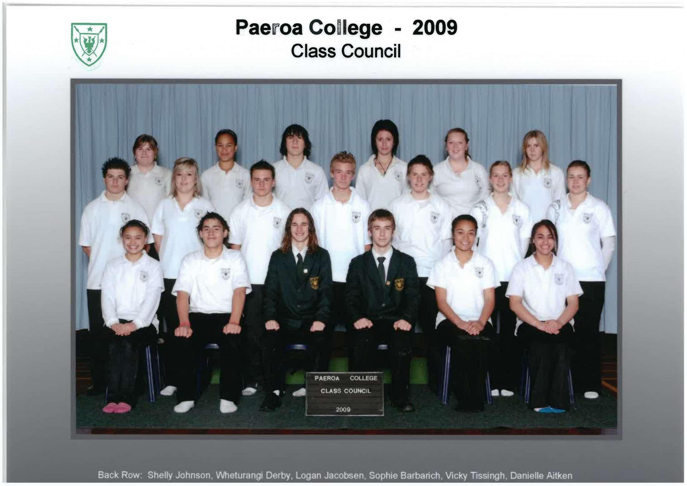 2009 Class Council
