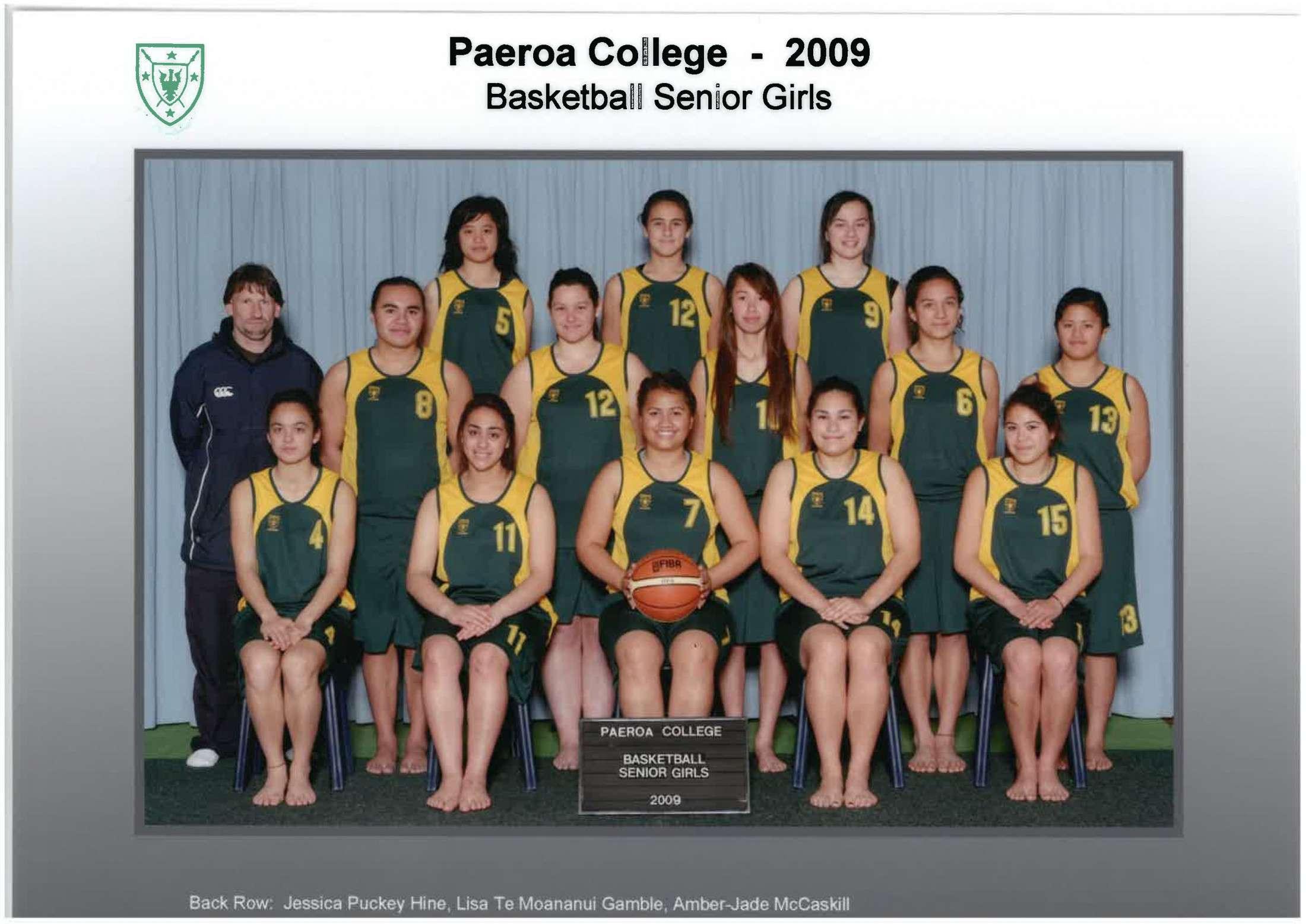 2009 SG Basketball