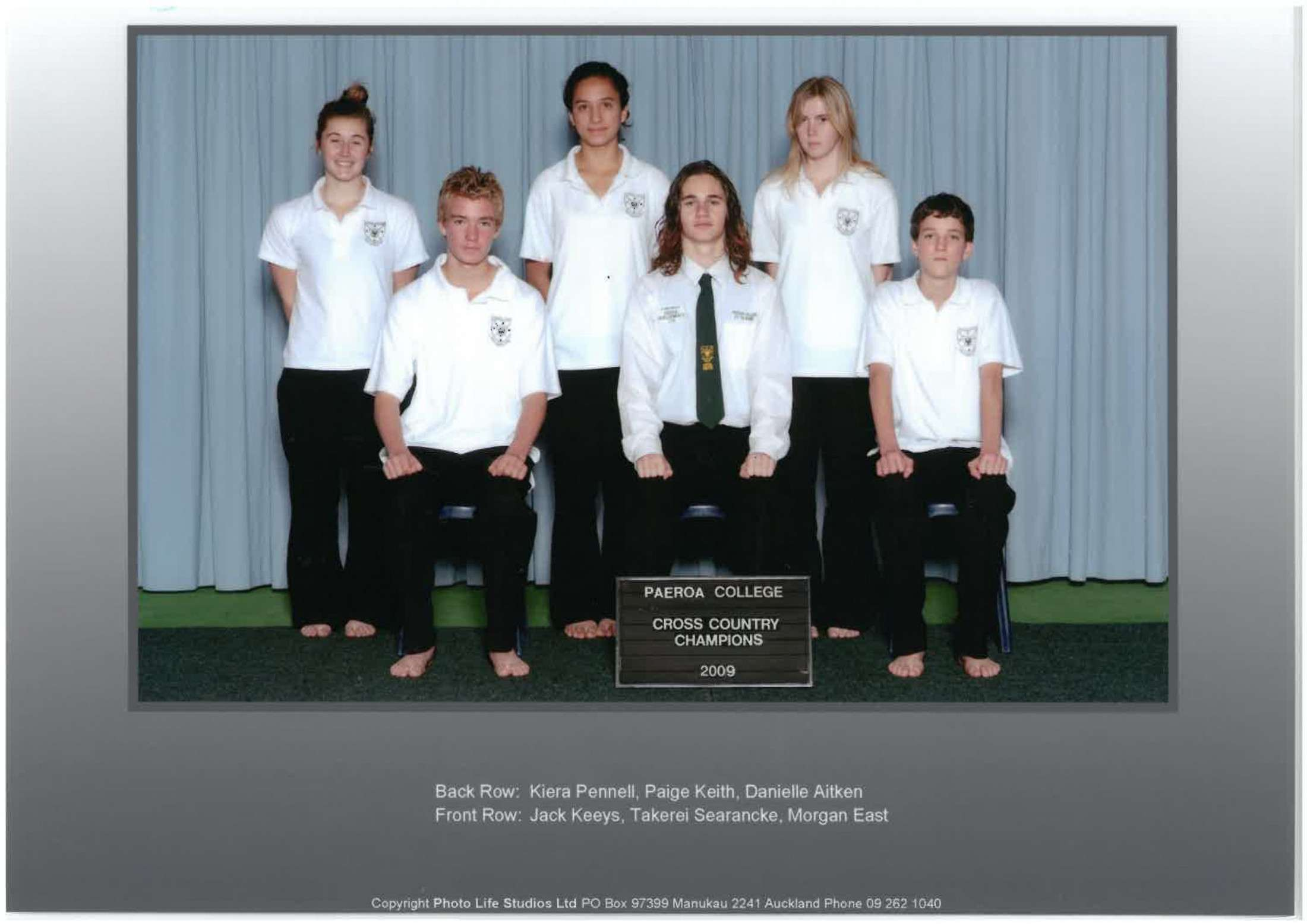2009 X Country Champions